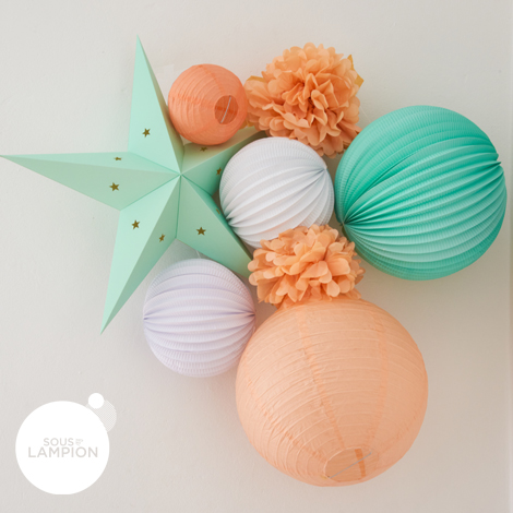 Paper lanterns kit - LINA