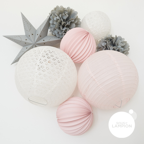 Paper lanterns kit - LOUISON