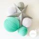 Paper lanterns kit - SACHA
