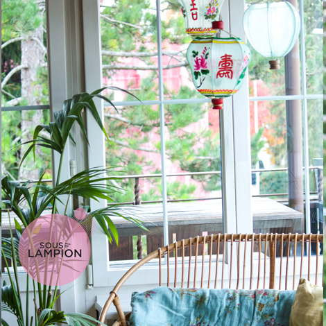 Traditional Fabric Chinese lanterns