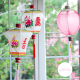 Traditional fabric lanterns for home decor