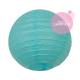 mini aqua paper lantern for nursery decoration