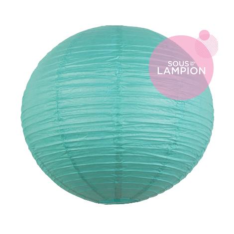 lanterne turquoise pour la décoration d'un mariage ou d'un intérieur