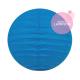 Mini lanterne papier bleu pour une décoration murale bébé ou enfant
