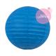 Petite boule chinoise papier bleu pour une déco de chambre de bebe