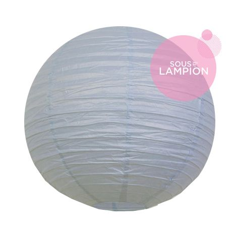 Paper lantern - 35cm - Feather blue