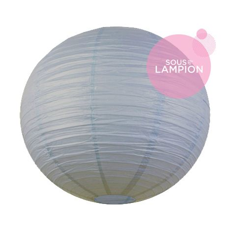 Paper lantern - 66cm - Feather blue