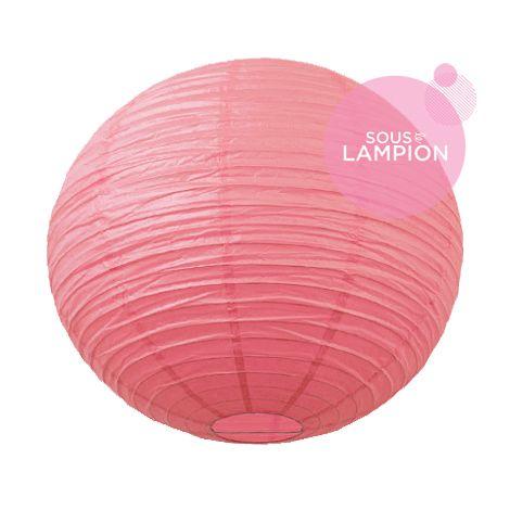 Paper lantern - 50cm - Rose blush