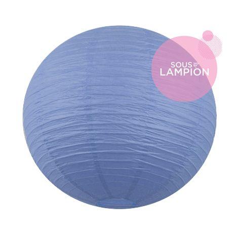 Paper lantern - 66cm - Vintage blue