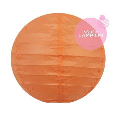 Paper lantern - 15cm - Clementine