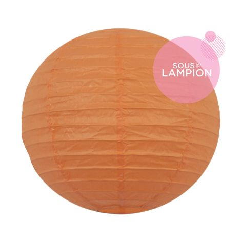 Paper lantern - 20cm - Clementine