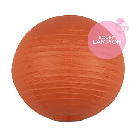 lanterne chinoise mariage orange vif