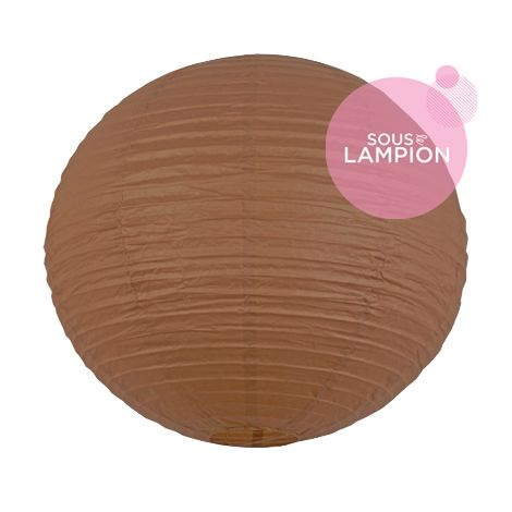 Paper lantern - 50cm - Hazel