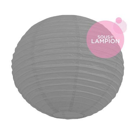 Paper lantern - 35cm - Cumulus grey
