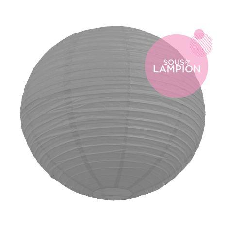 grande lanterne mariage grise