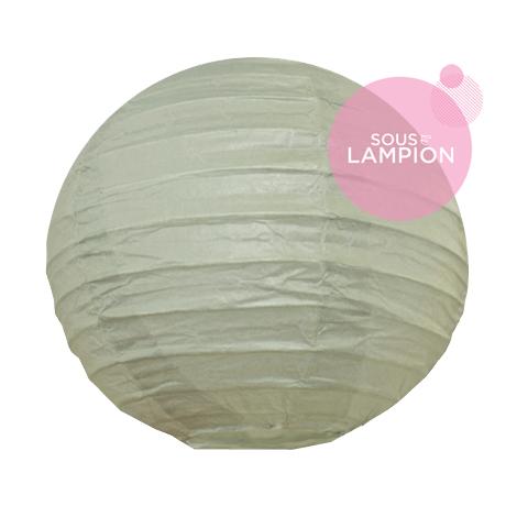 Lanterne chinoise baby dans composition de lampions
