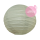small sage color paper lantern
