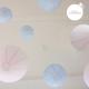 décoration mariage rose et bleu
