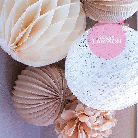 Paper lanterns kit - AMELIE