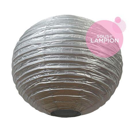 Paper lantern - 35cm - Silver star