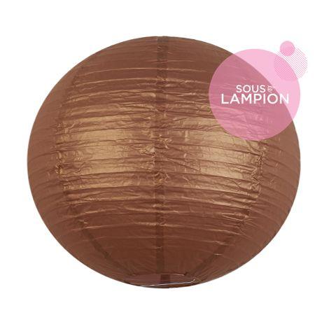Paper lantern - 35cm - Silky bronzer