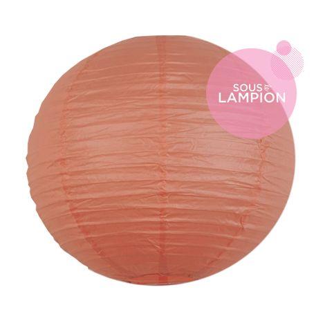 Paper lantern - 35cm - Coral lipstick
