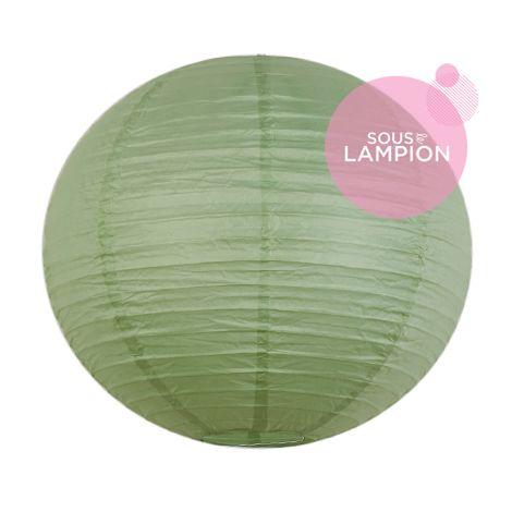 Lanterne en papier vert pour une décoration de salle de mariage ou de chambre