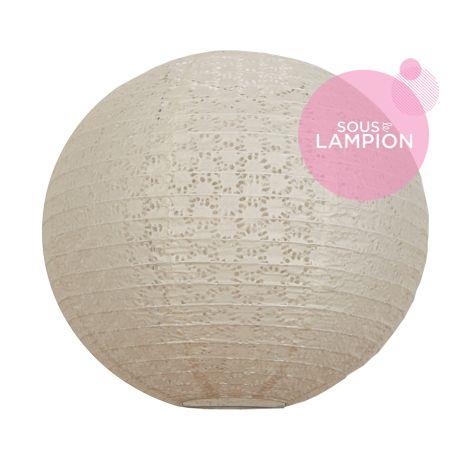Lace paper lantern - 35cm - Nostalgia