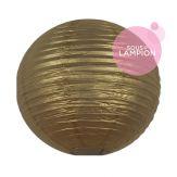 Lanterne en papier doré pour une décoration de salle de mariage ou de chambre