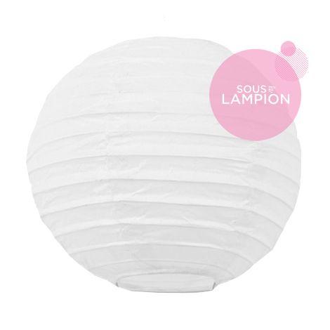 Paper lantern - 15cm - White
