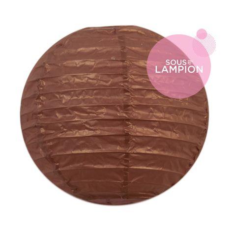 Paper lantern - 15cm - Silky bronzer