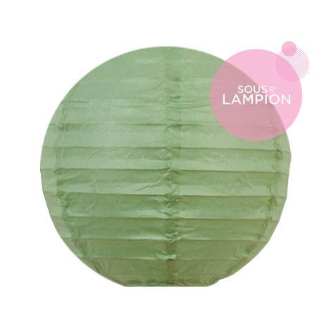 Paper Lantern - 15cm - Celadon
