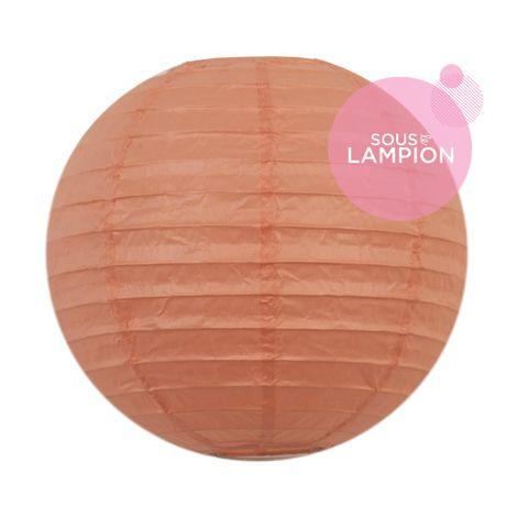 Paper lantern - 20cm - Coral lipstick