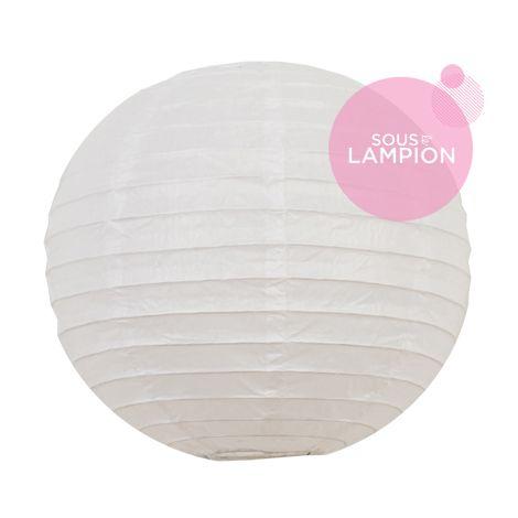 petite lanterne en papier blanc pour une décoration murale de chambre de fille ou garçon