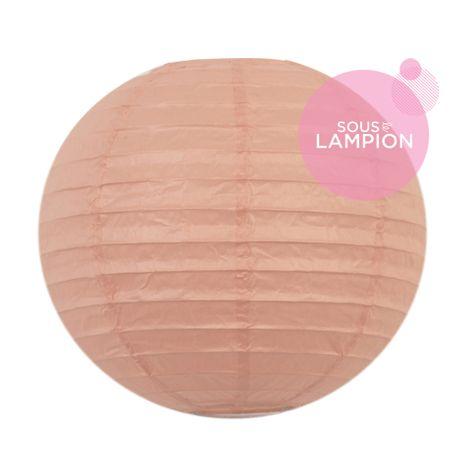 Paper lantern - 20cm - Iced melon