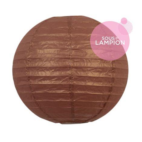 Paper lantern - 20cm - Silky bronzer