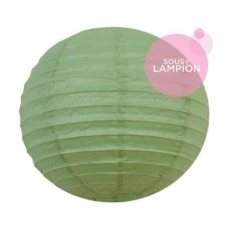 Paper Lantern - 20cm - Celadon