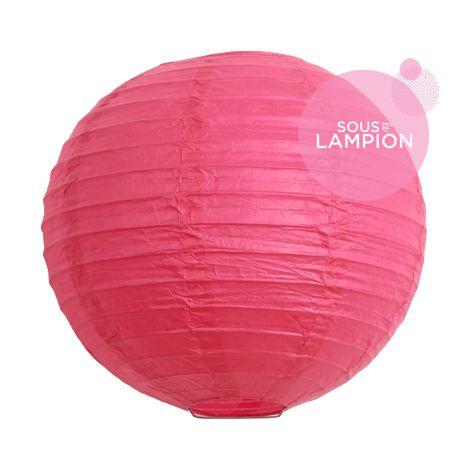 Paper lantern - 20cm - Flamingo pink