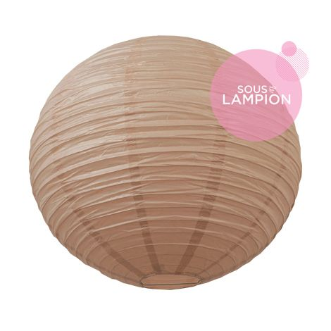 Lanterne chinoise - 50cm - Rose camélia