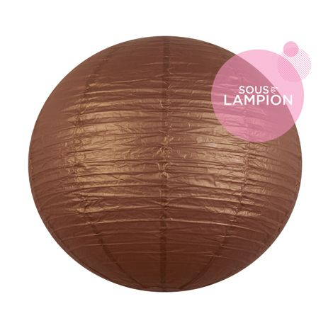 Paper lantern - 50cm - Silky bronzer