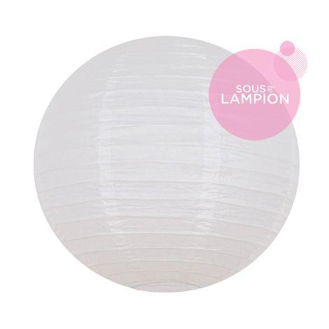 petite lanterne chinoise blanche pour un mariage ou une composition de lampions