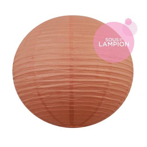 Paper lantern - 50cm - Coral lipstick