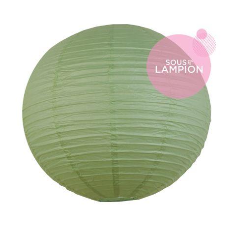 Paper Lantern - 50cm - Celadon