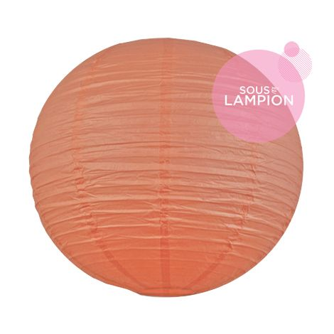 Paper lantern - 66cm - Coral lipstick