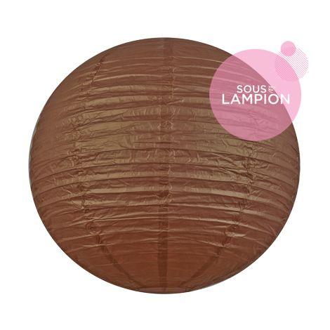 Paper lantern - 66cm - Silky bronzer