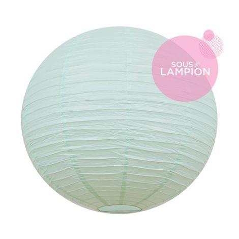 Paper lantern - 66cm - Pastel mint