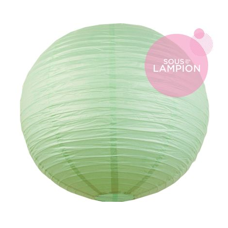 Paper lantern - 66cm - Watercolor green