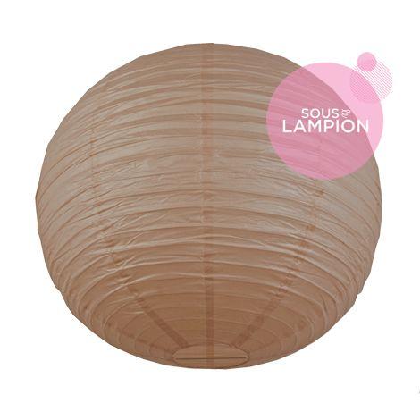 Paper lantern - 66cm - Latté