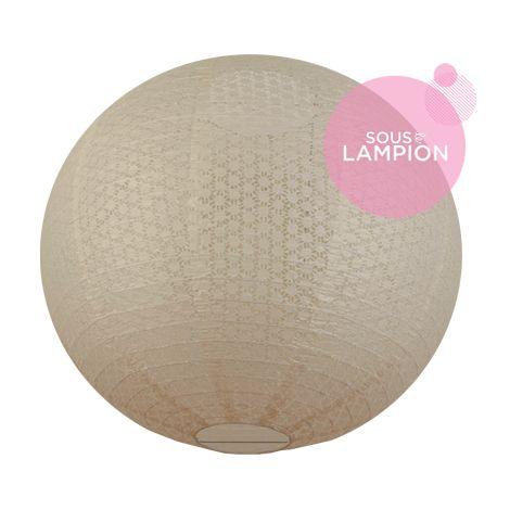 Lace paper lantern - 66cm - Nostalgia