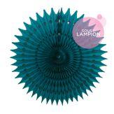 Honeycomb fan - 53cm - Old school pink